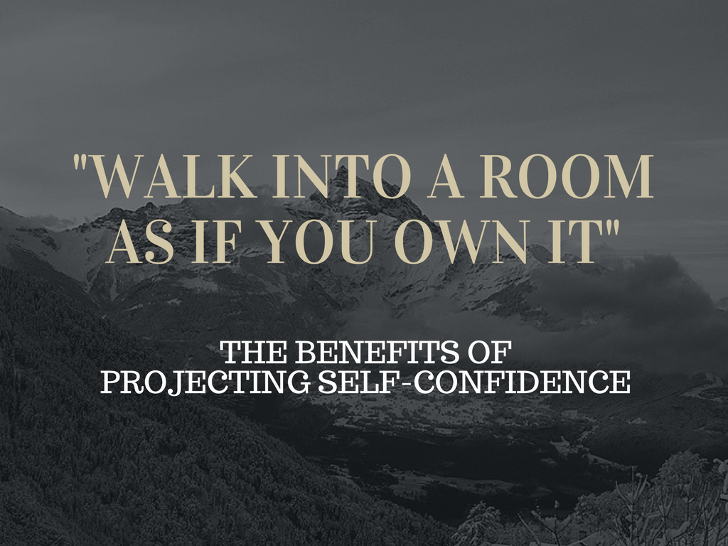 Benefits of Projecting Self-Confidence